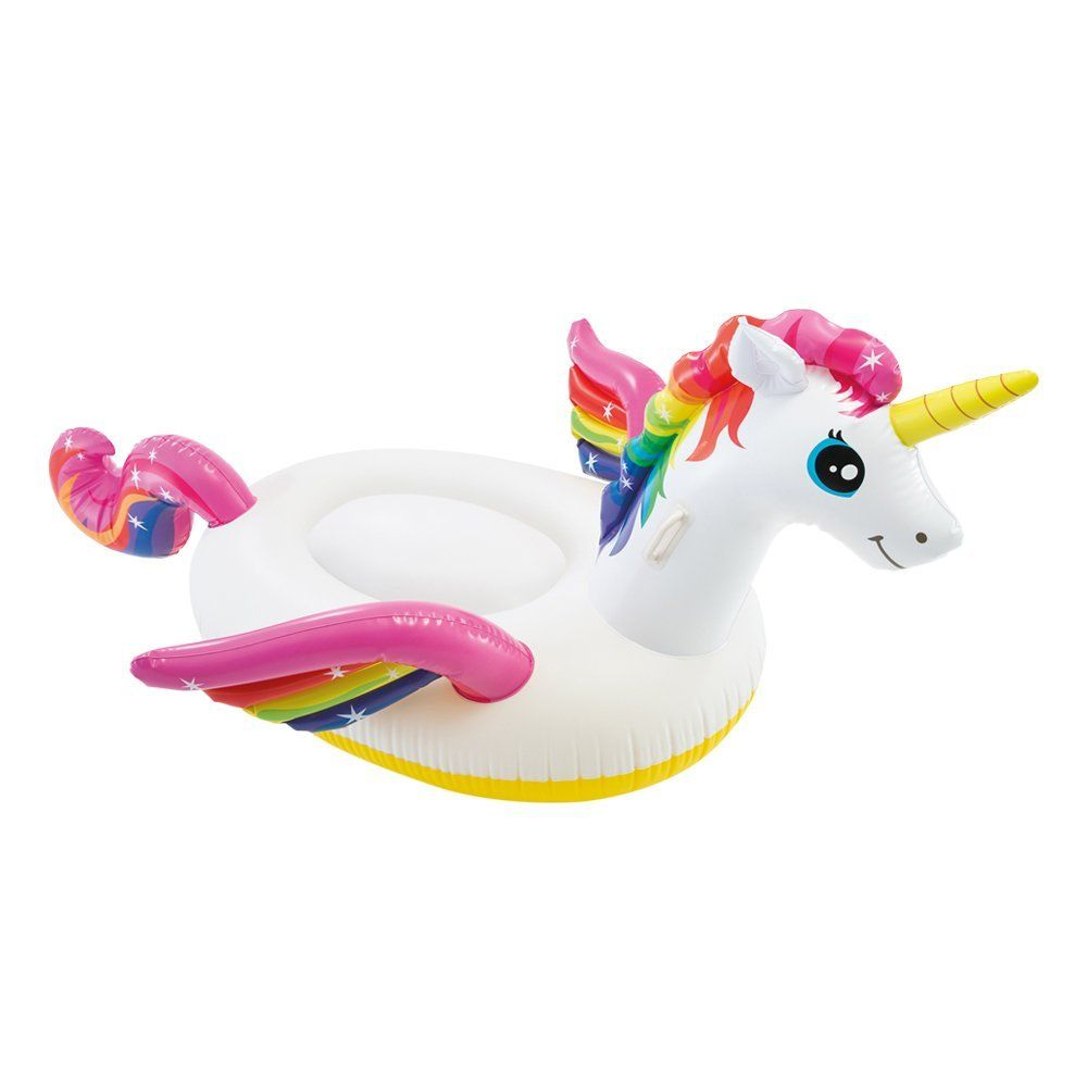 Unicornio hinchable barato-Gangas amazon