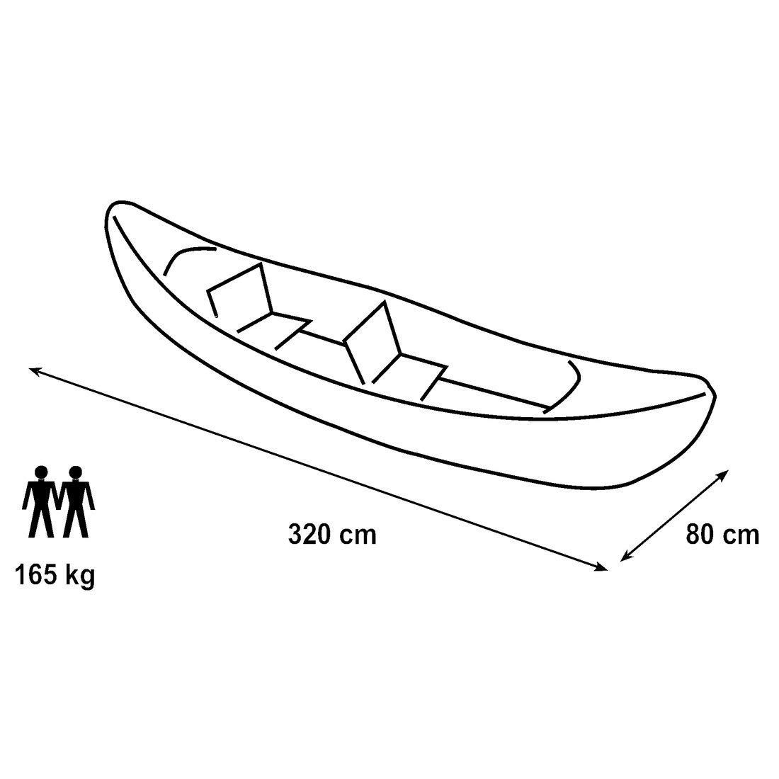 La mejor canoa hichable -oferta amazon-kayak decathlon barato-medidas