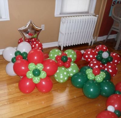 flores con globos navideños baratos - ofertas amazon